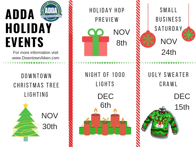 ADDA Holiday events
