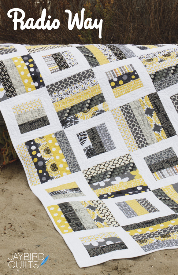 jaybird quilts  radio way sewing pattern