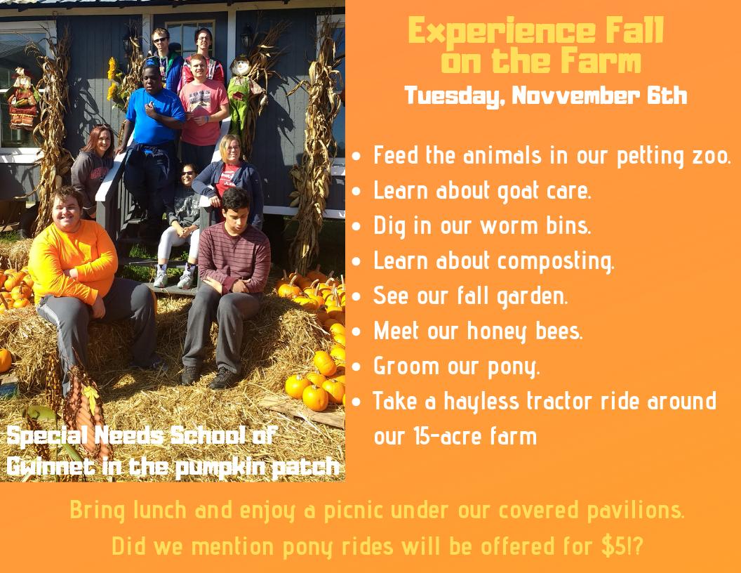 Experience Fall on the Farm 1
