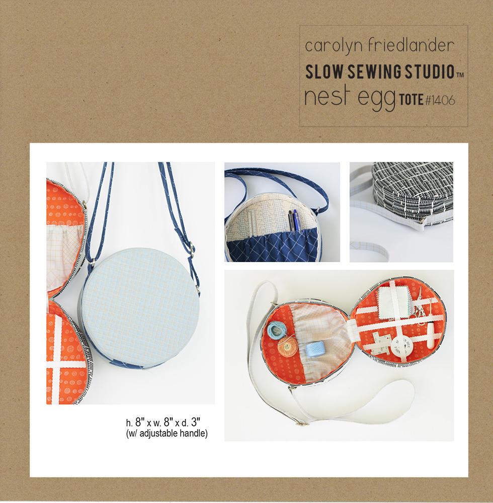 Nest-Egg-tote pattern-front Carolyn-Friedlander web