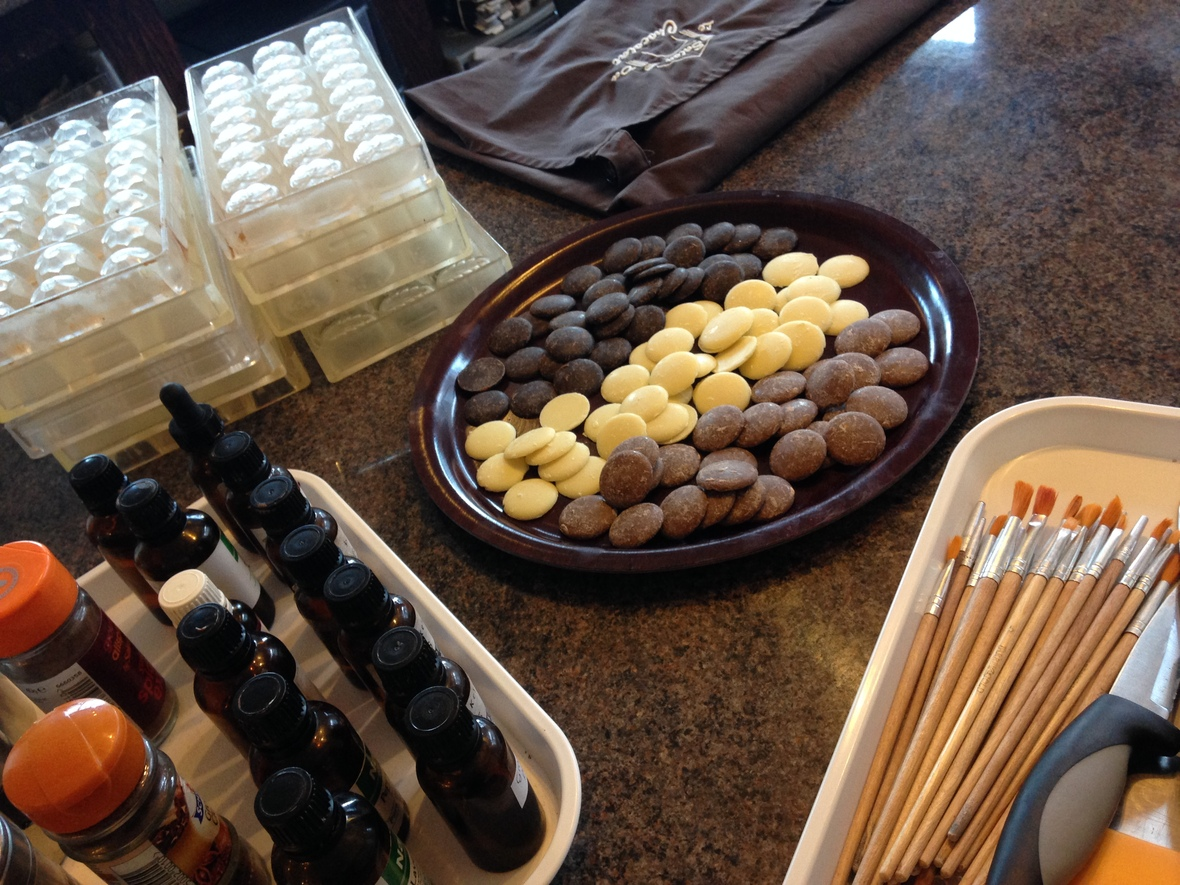 Ready for Workshop at Le Salon Du Chocolat