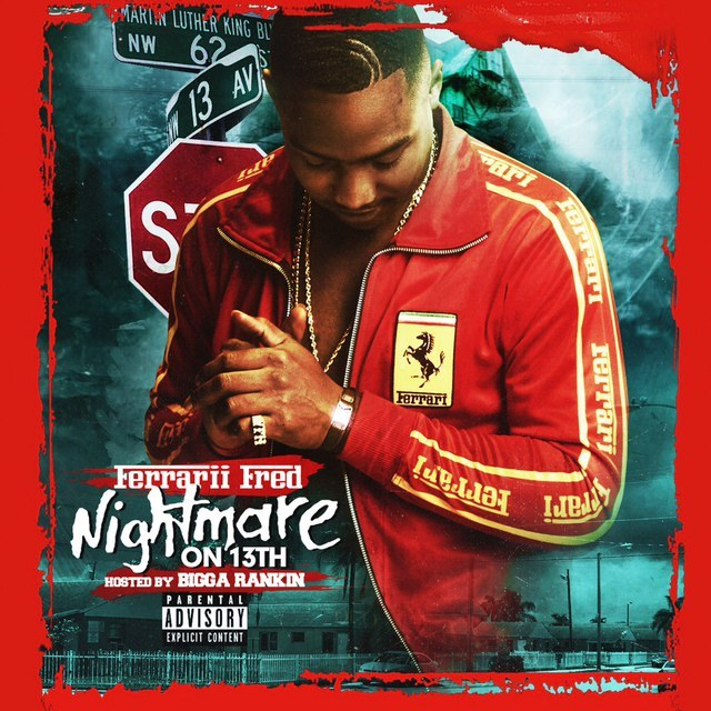 Ferrari Fred - Nightmare on 13th Cover