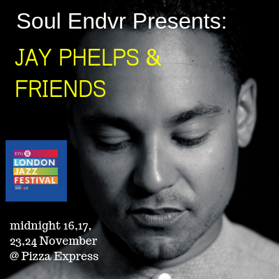 Jay Phelps London Jazz Festival with logo2018 1