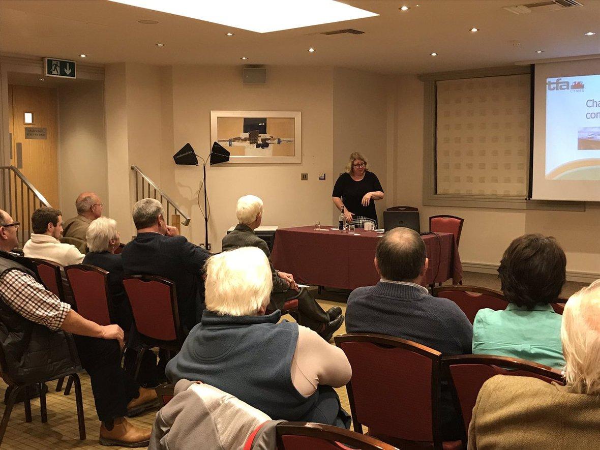 Karen Anthony presenting Nov 18