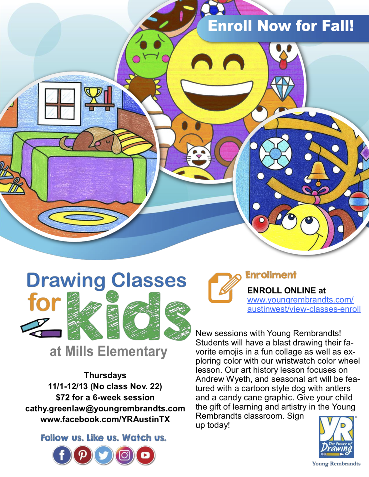 ART-ERRIFIC Drawing Classes Start Soon