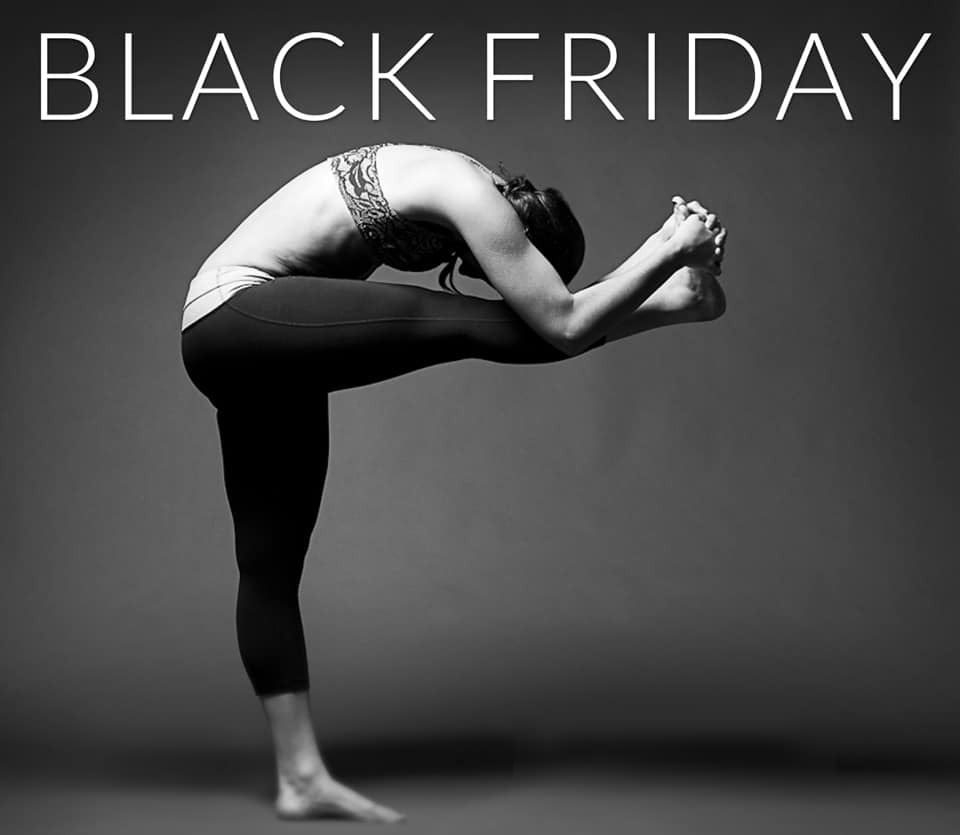 Black Friday yoga