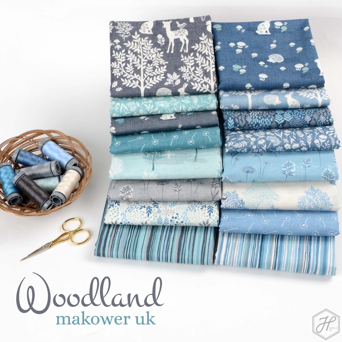 Woodland Fabric Poster