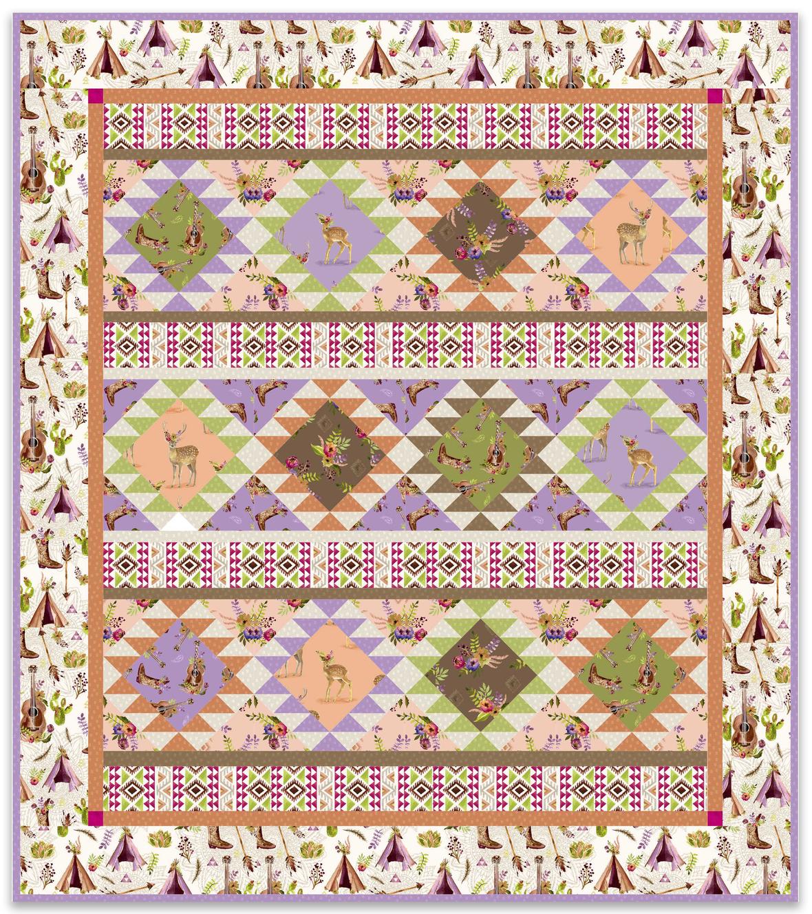 windham- desert picnic quilt