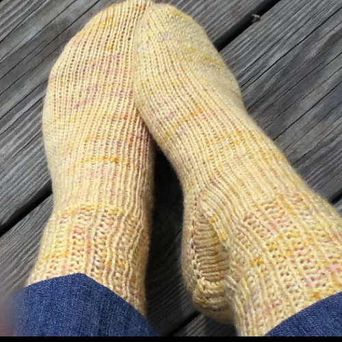 toe up worsted