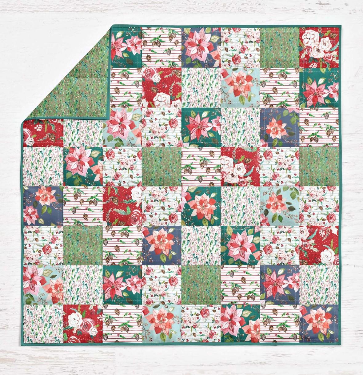Indy Bloom Winter Florals 5 in Quilt
