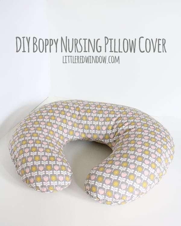 diy boppy cover 016 littleredwindow