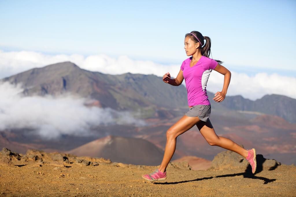 woman running opt