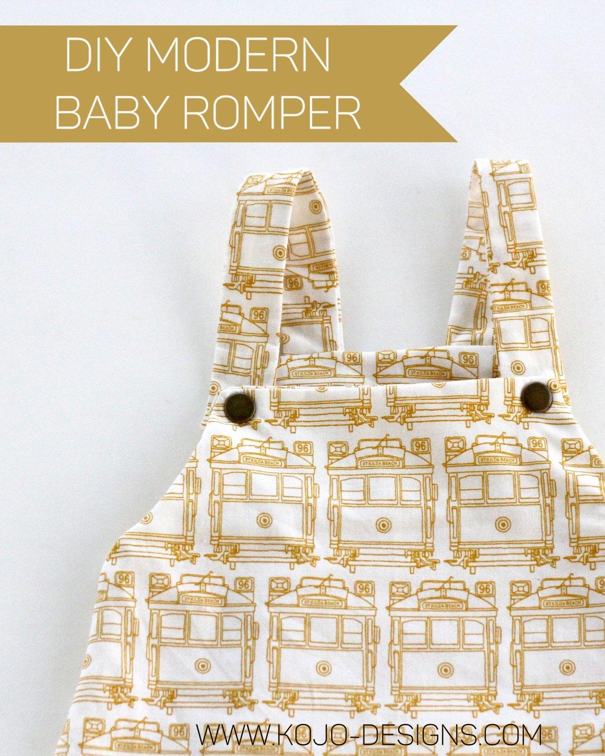 Kojo-designs- diy baby romper