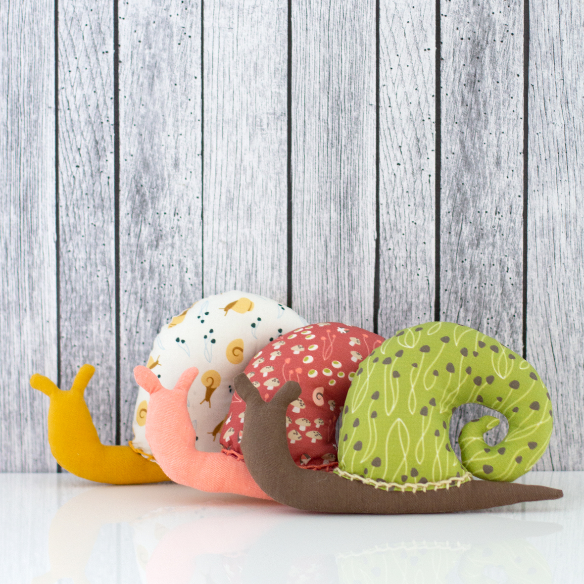 Cloud 9 - snails- pattern by DIY tutorials collection