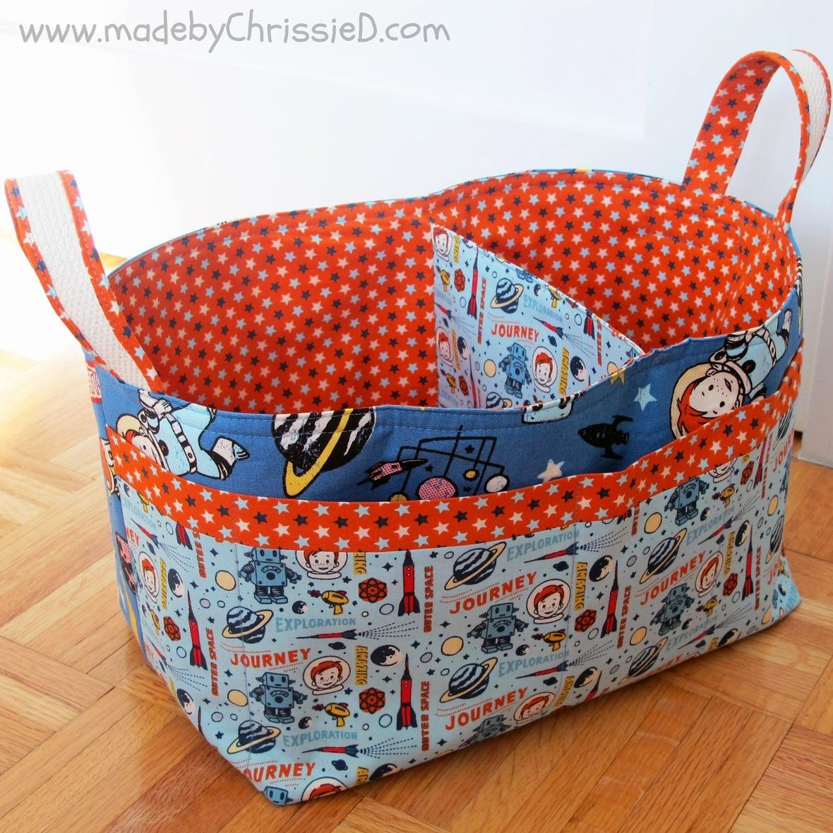 Madebychrissied- blog - nursery basket sewing tutorials- 2