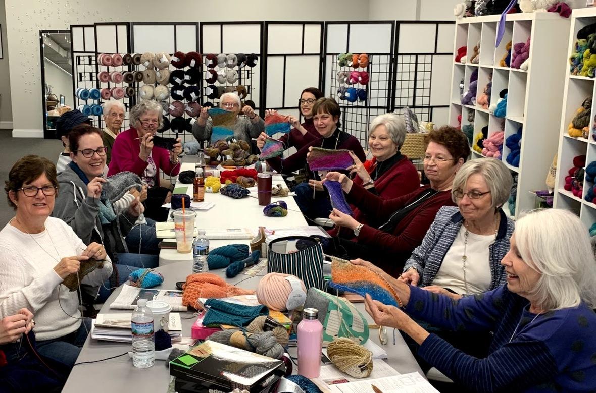 Noro short row sweater knitters