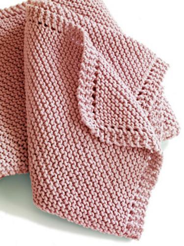 beginner baby blanket