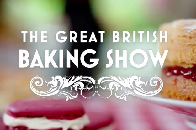 great british baking show image
