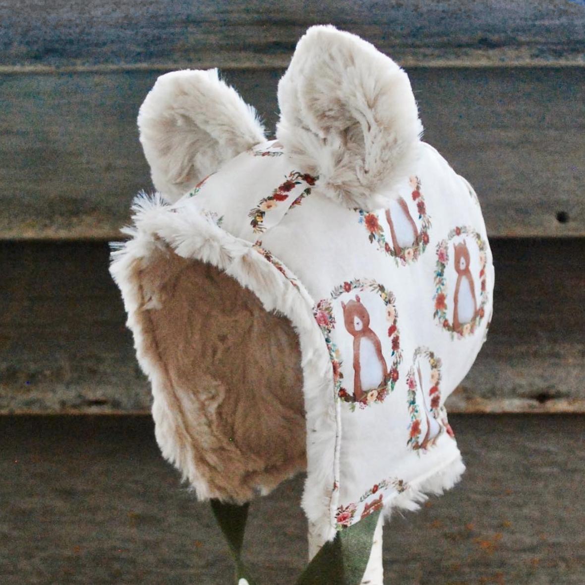 Hawthorne Supply Co Shopcabin Autumn Florals Bonnet by Eddie and Sophia