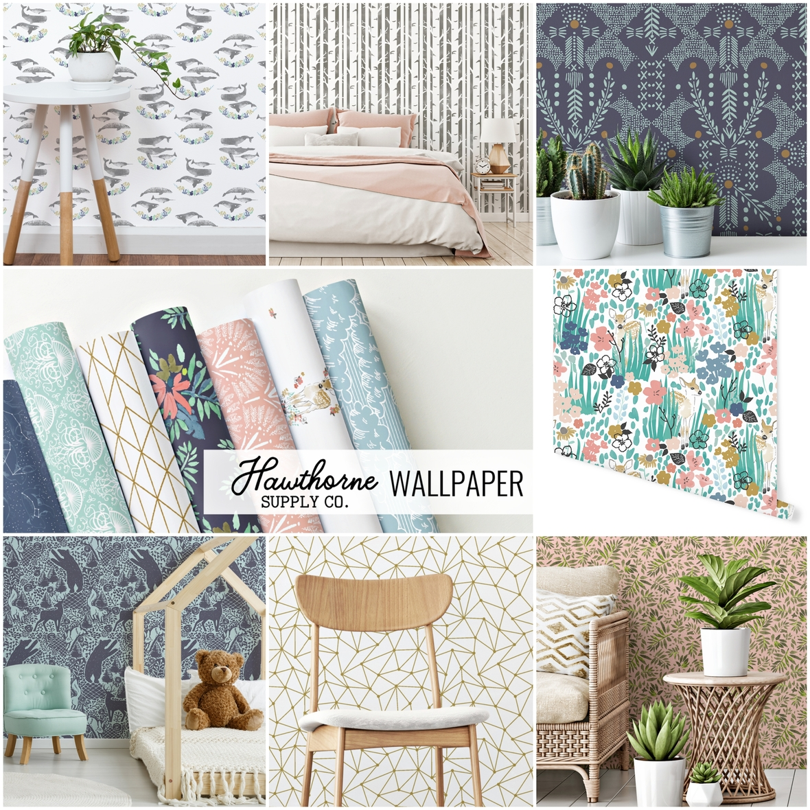 Hawthorne Supply Co Peel and Stick Wallpaper