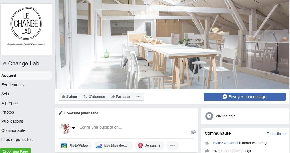 Facebook change Lab