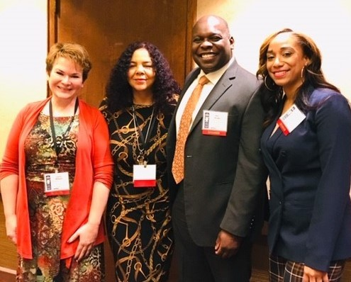 Elisa and panelists - TriCities Diversity Summit - 10.31.18