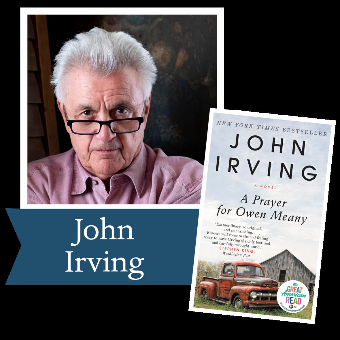 john irving w book