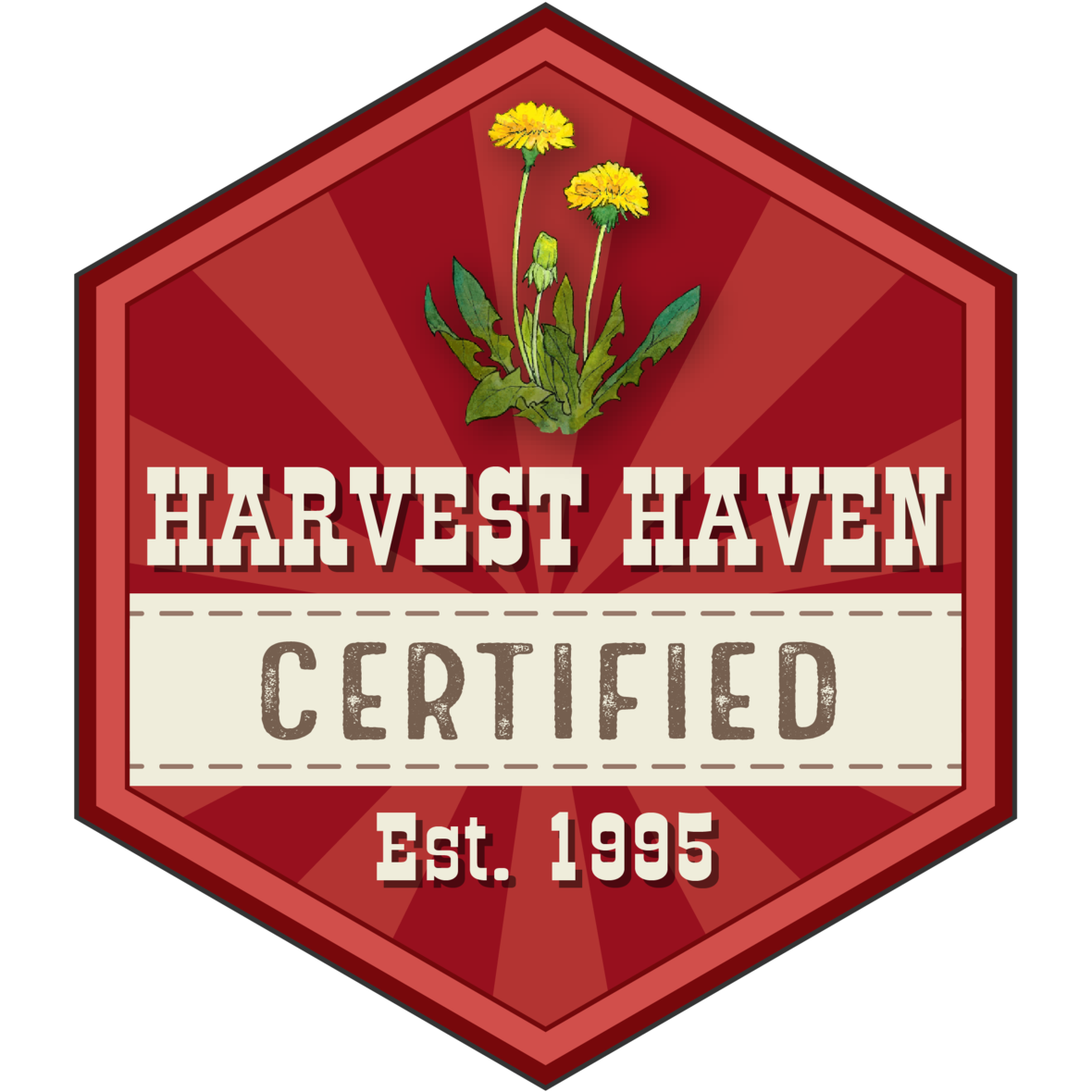 harvest haven certified logo