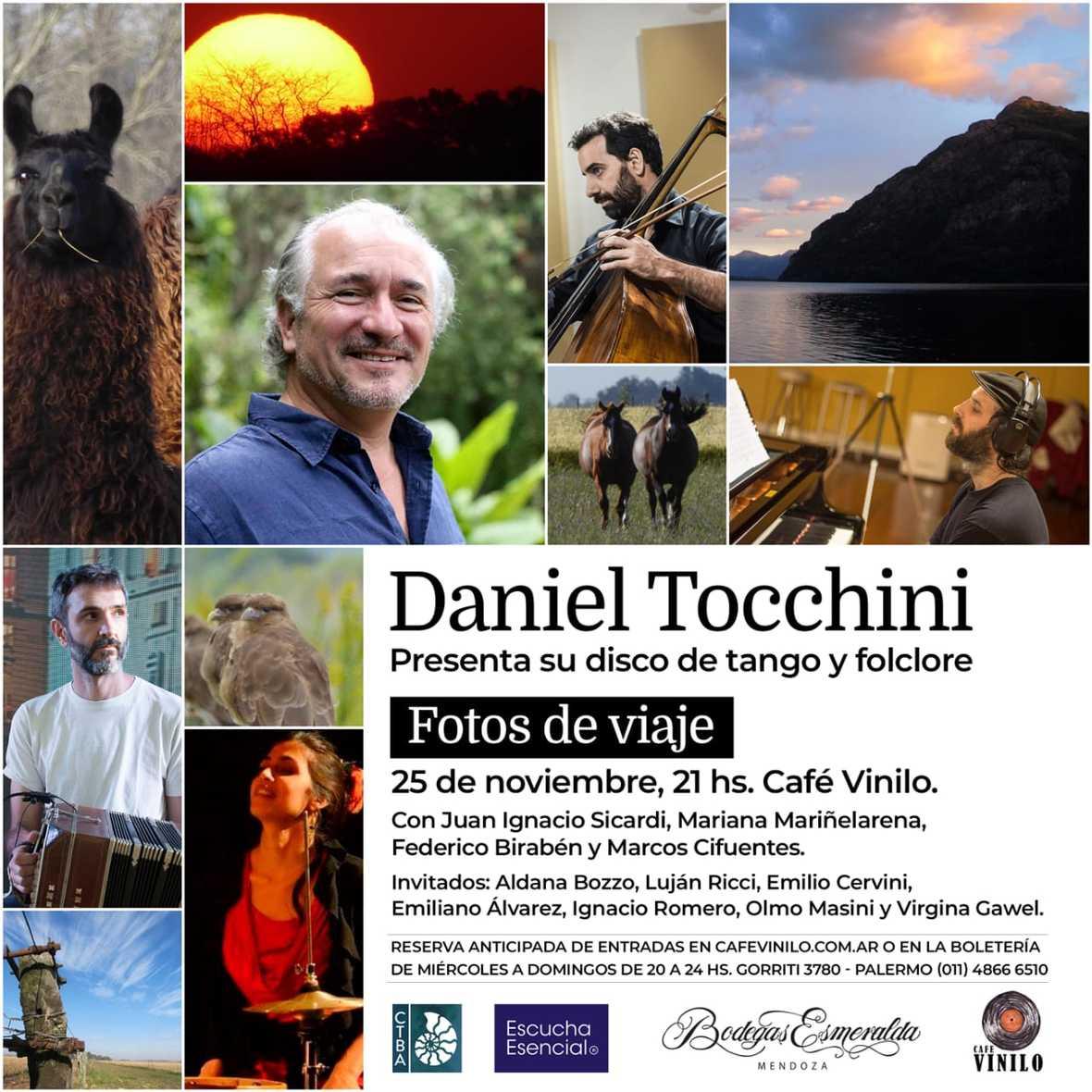 DANIEL TOCCHINI CD noviembre 2018
