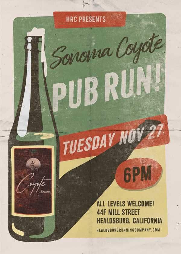 sonoma coyote pub run