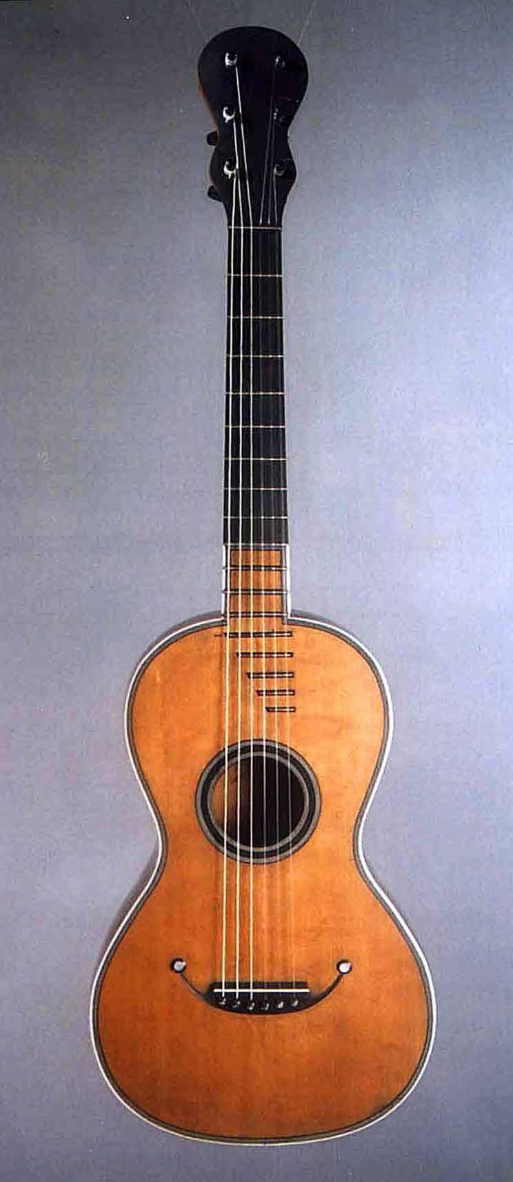 Cabasse-Bernard guitar c1820
