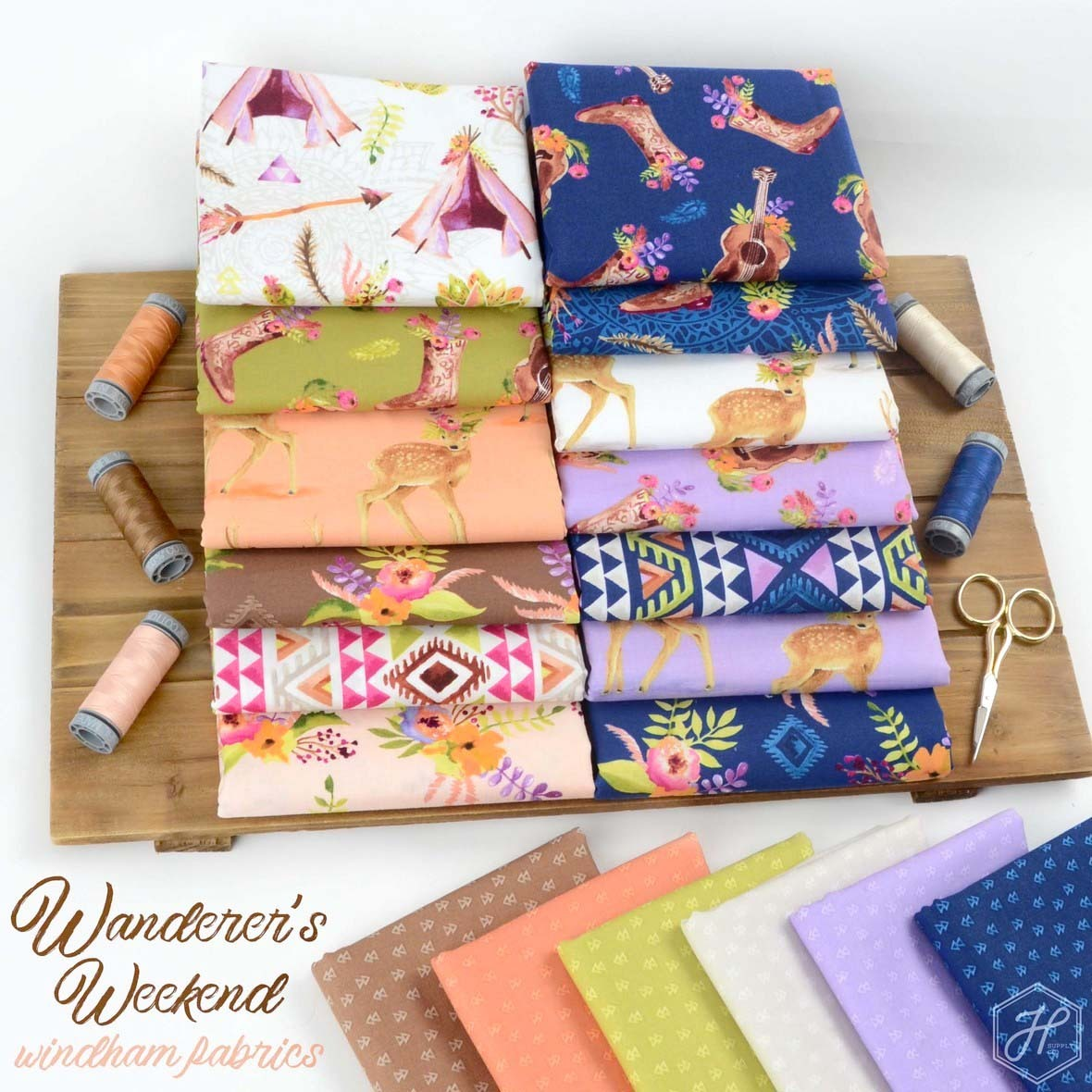 Wanderers Weekend Fabric Poster