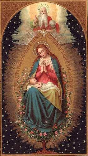 Virgen con el Nino 06 12