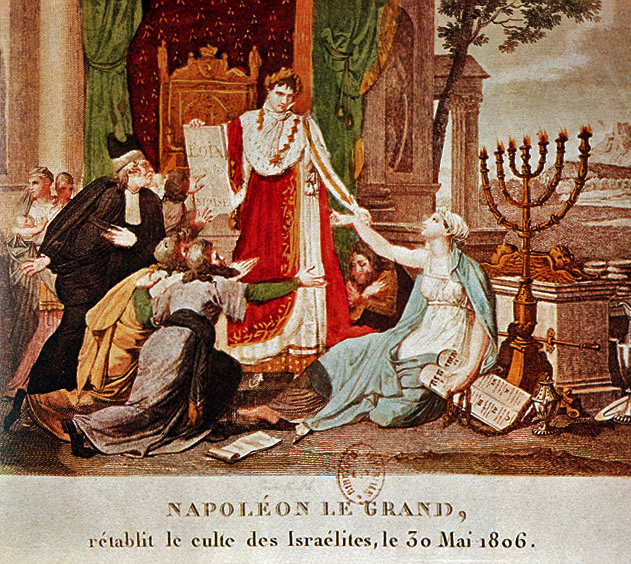 Napoleon Emancipating the Jews 30. Mai 1806