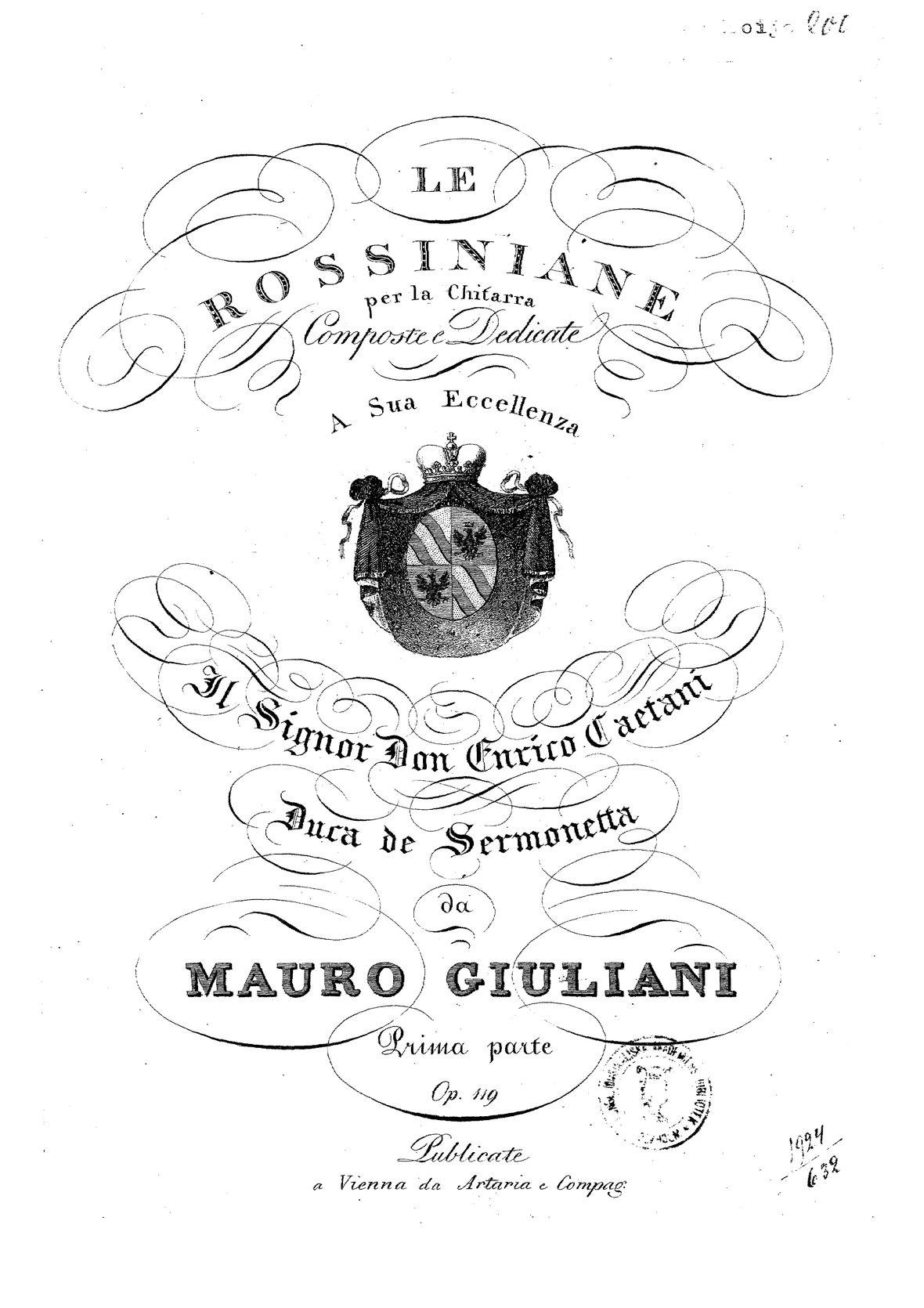 Giuliani Rossiniane