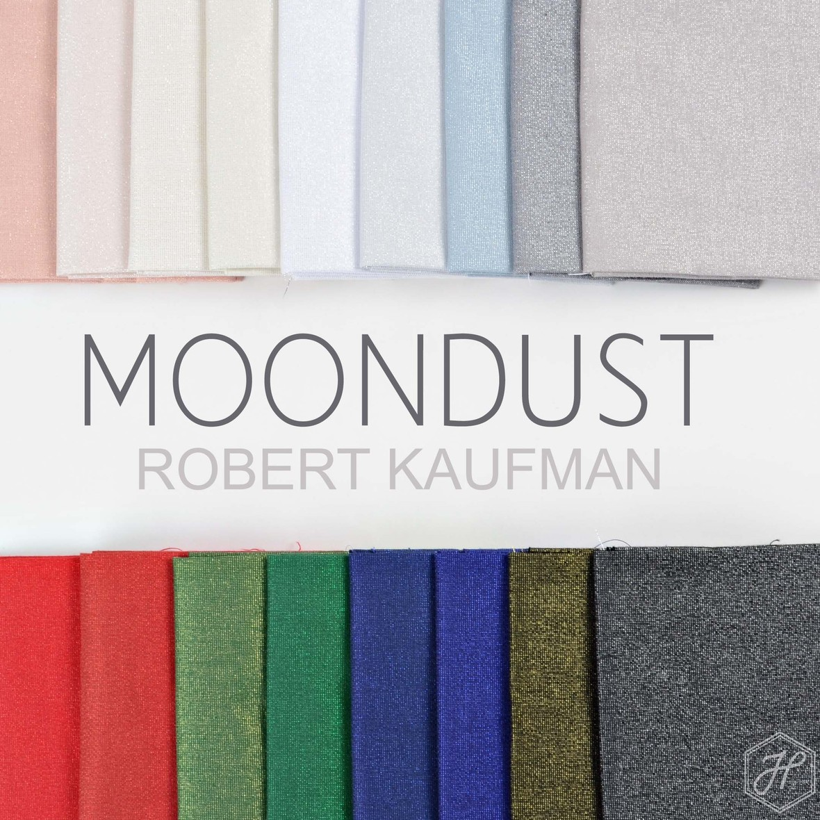 MOONDUST fabric Poster Robert Kaufman at Hawthorne