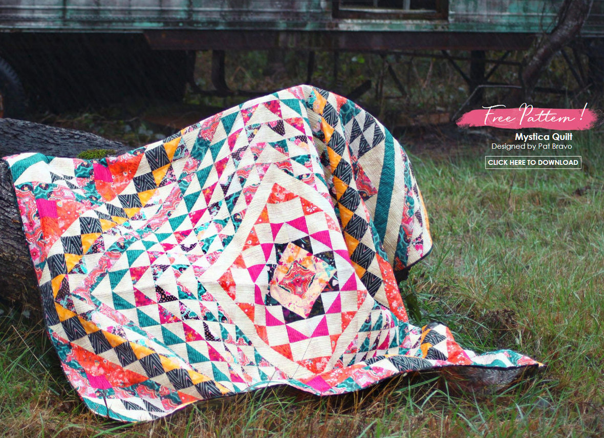 Legendary Free Quilt Pattern from Art Gallery