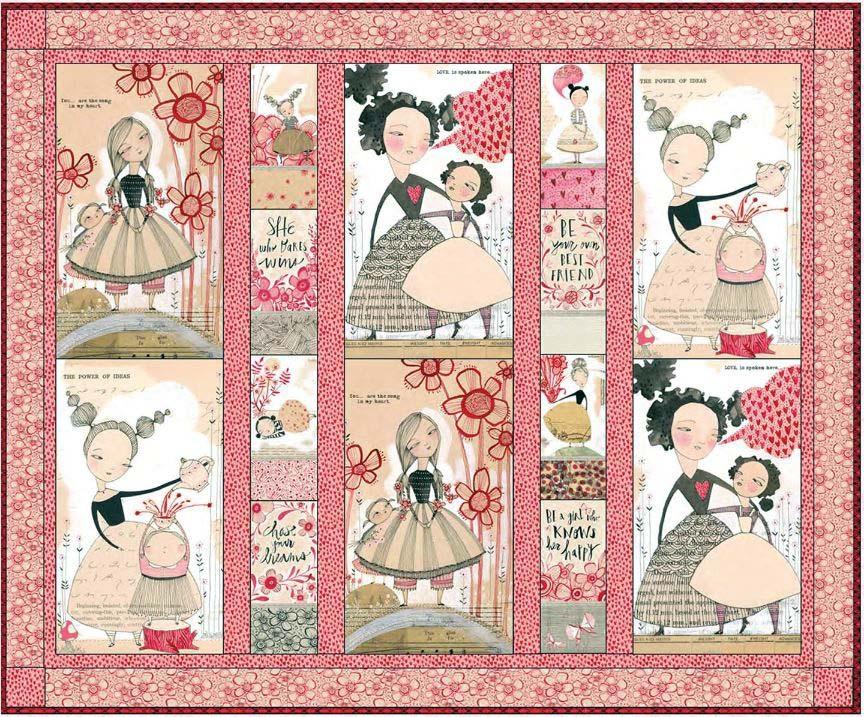 Blend - free quilt pattern