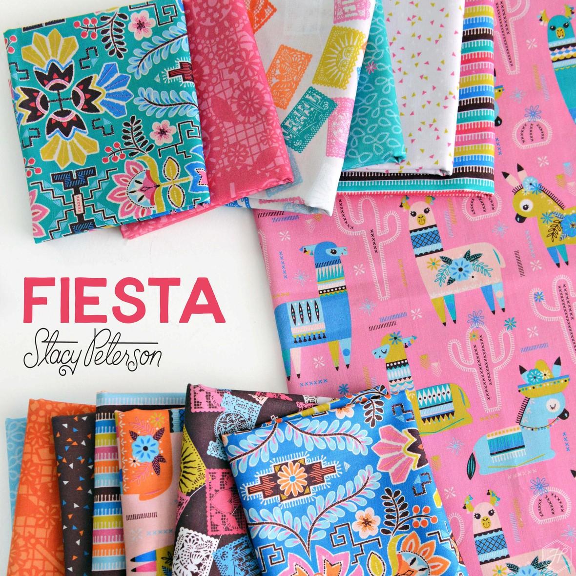 Fiesta Fabric Poster