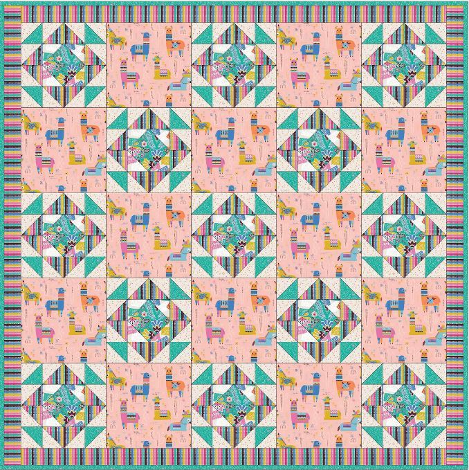 Blend - free quilt pattern