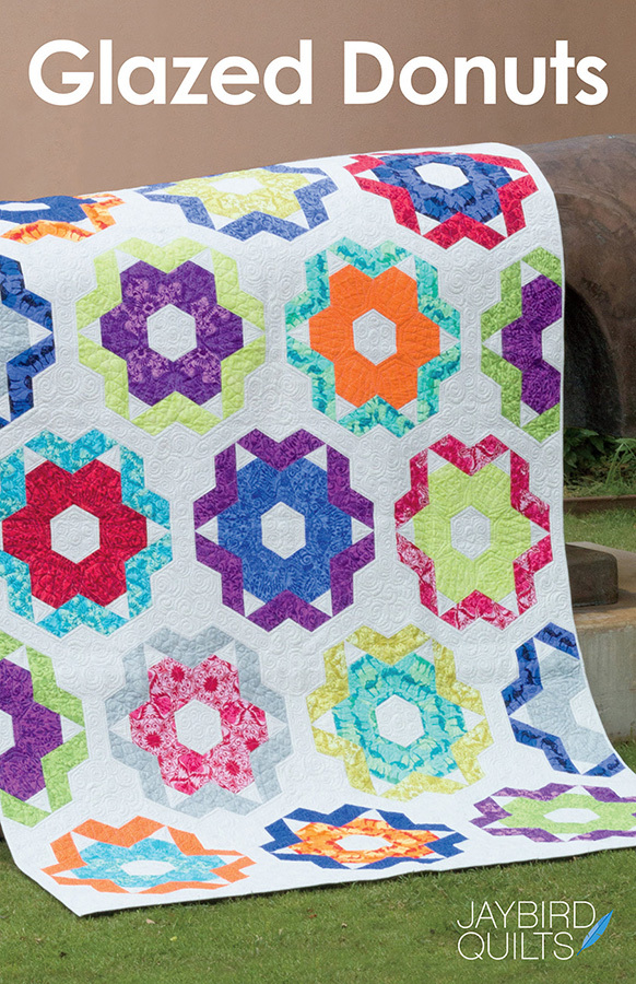 jaybird quilts  glazed donuts sewing pattern