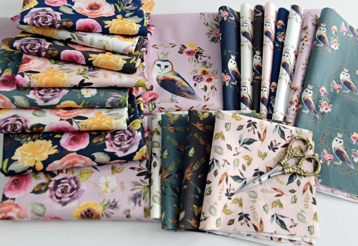 Cambridge Florals Fabric Shopcabin for Hawthorne Supply Co
