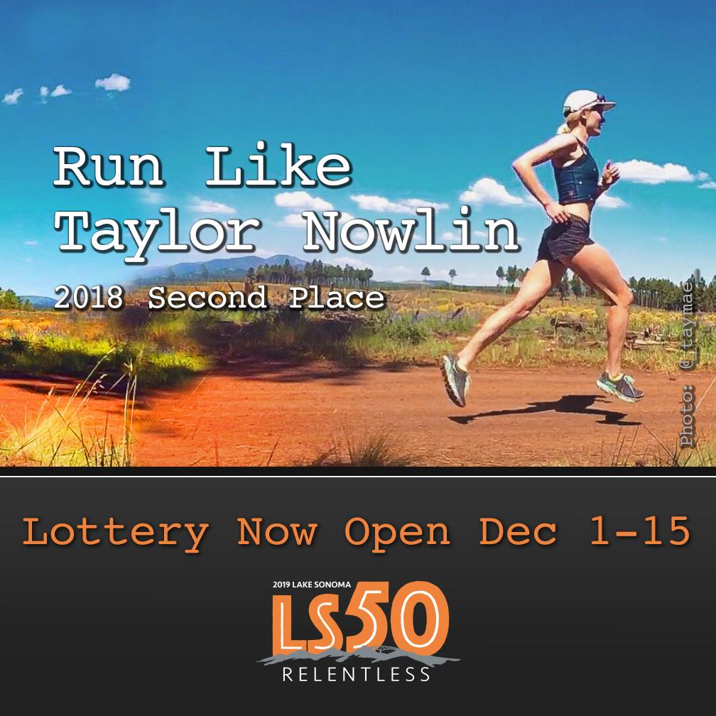 LS50 ad Taylor Mae Nowlin
