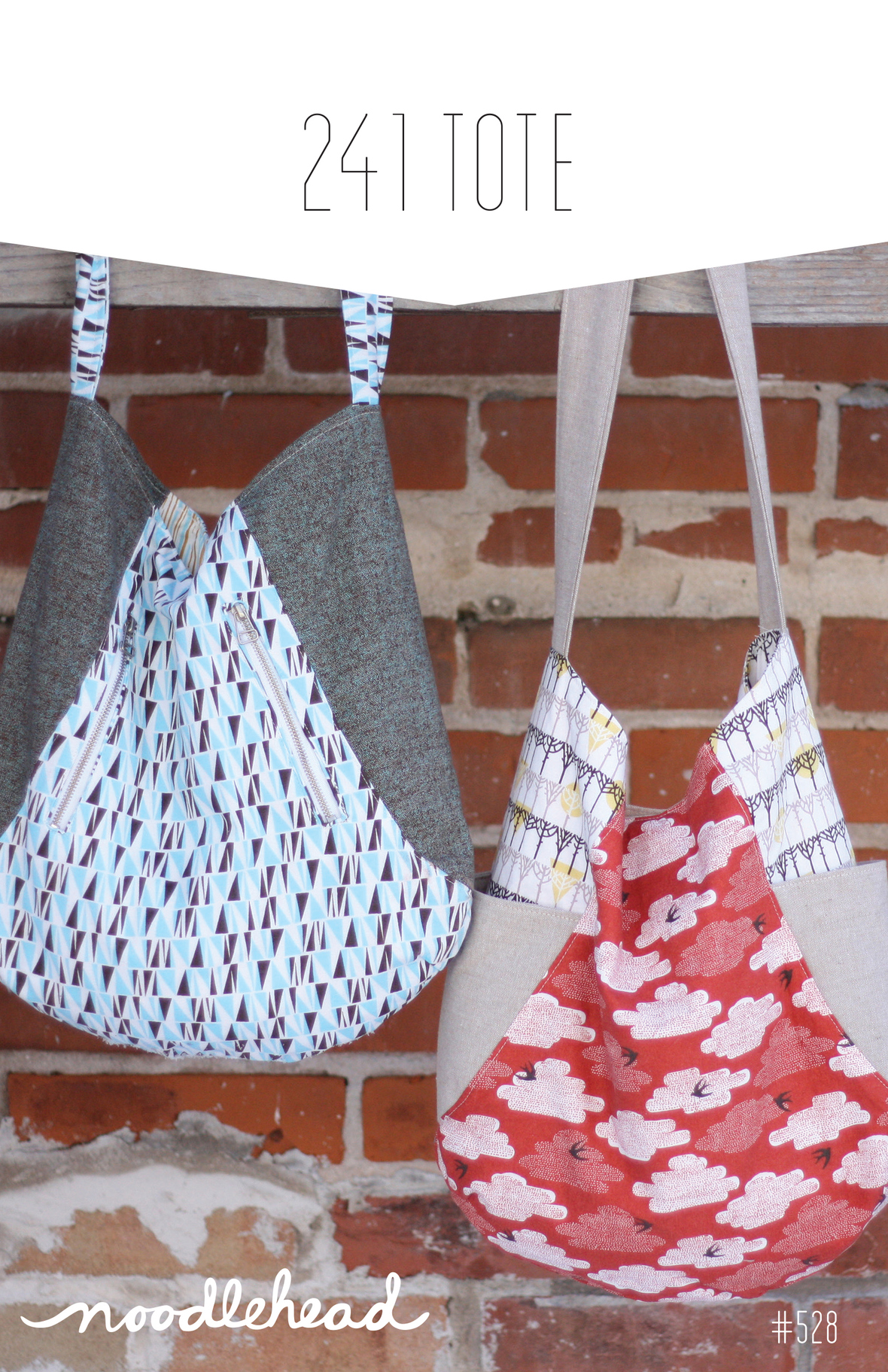 noodlehead 241 tote sewing pattern