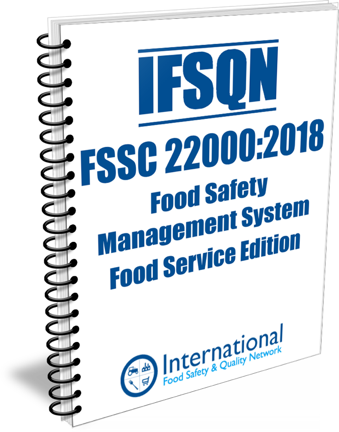 The IFSQN launch FSSC 22000 Food Safety Management System - Food