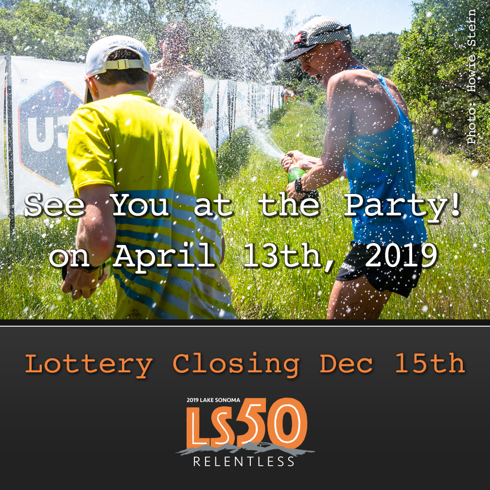 LS50 ad lottery closing