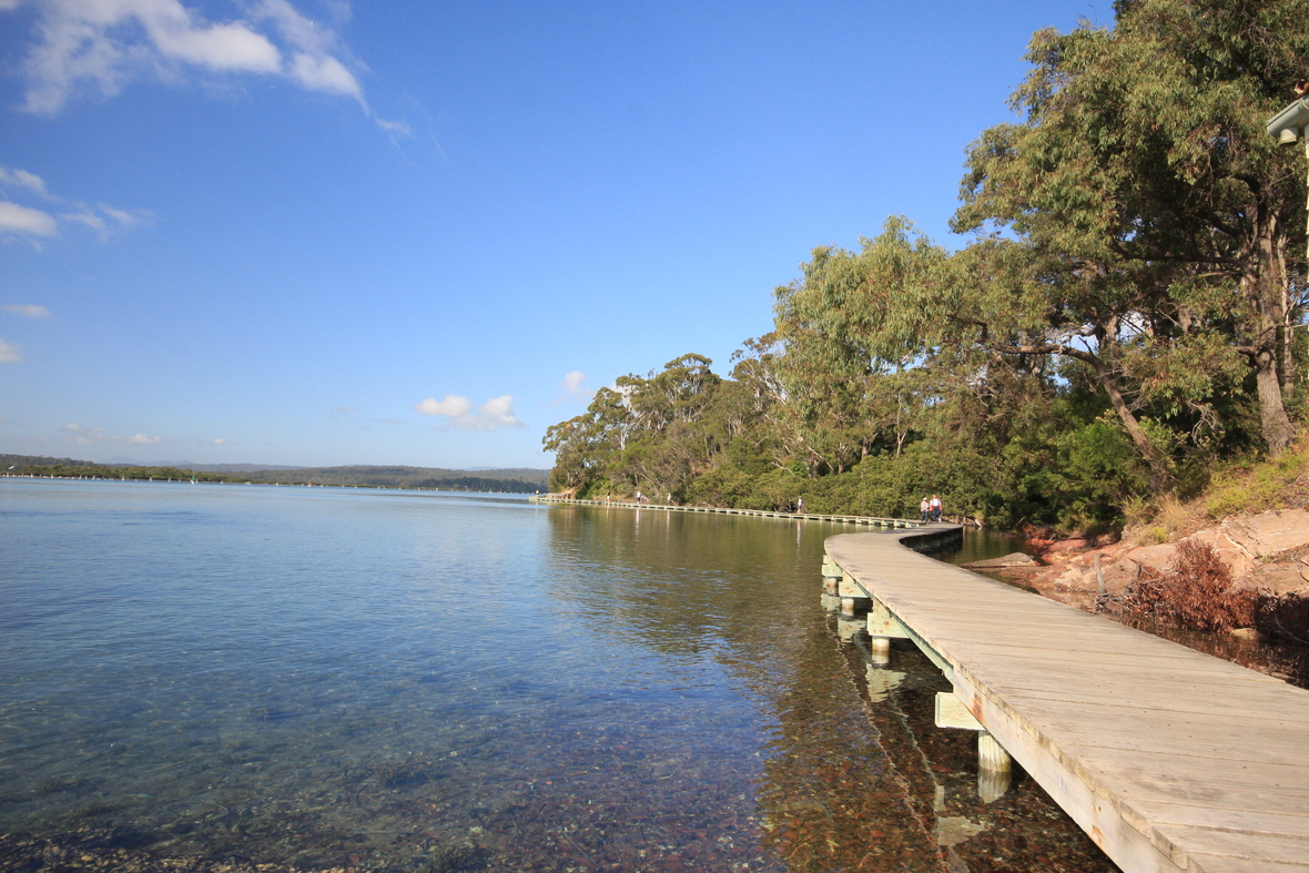 Merimbula Board Walk Sapphire Coast NSW 2