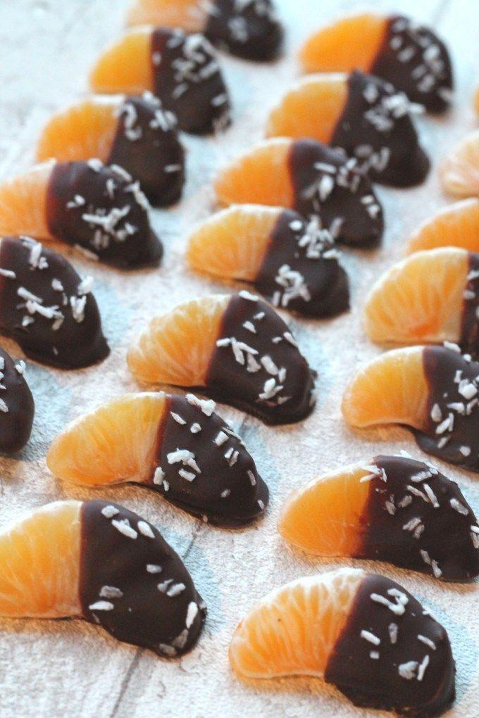 satsuma dipped in chocolate