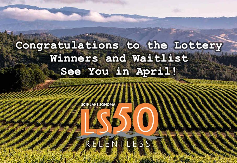 congrats LS50 2019 Lottery