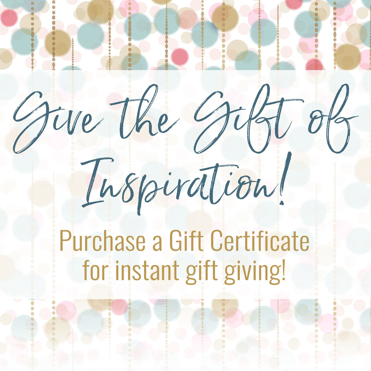2018 Gift Certificate Promo Image